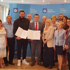 Konsorcjum lokalnych firm zbuduje pierwszą część al. Lecha Kaczyńskiego w Radzyminie