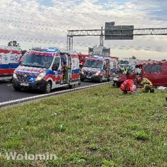 Wypadek Radzymin Trasa S-8