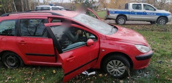 Pijany kierowca uciekał jak szalony