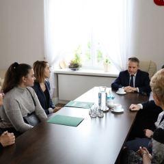 Nagrody Burmistrza dla zawodniczek UOLKA