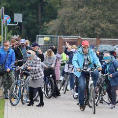 Fotorelacja z Rajdu rowerowego organizowanego w ramach wydarzenia Idziemy Po Zdrowie