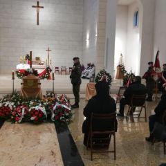 Pożegnanie śp. siostry Łucji loretanki i żołnierza AK