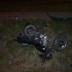 15-letni motocyklista ranny w wypadku na krajowej 62