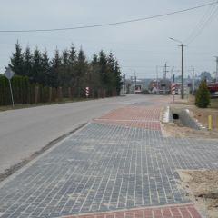 Gmina Małkinia Górna dołożyła 392 919,00 zł. na realizację ciągu pieszo – rowerowego na odcinku Kańkowo – Zawisty Podleśne – Małkinia Górna