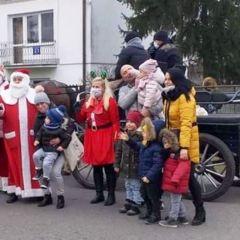 Święty Mikołaj dotarł do Mokrego!