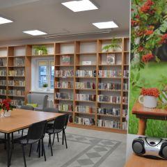 Tak prezentują się wnętrza Biblioteki w Jarzębiej Łące