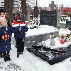 Młodzież odwiedziła groby Żołnierzy Armii Krajowej