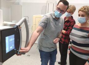 Ultranowoczesny aparat RTG marki Philips w ostrowskim szpitalu gotowy do pracy