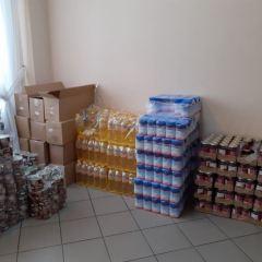 Dystrybucja żywności w ramach Programu Operacyjnego Pomoc Żywnościowa