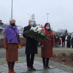 Udział przedstawicieli gminy Brańszczyk w powiatowych obchodach Narodowego Dnia Pamięci Żołnierzy Wyklętych