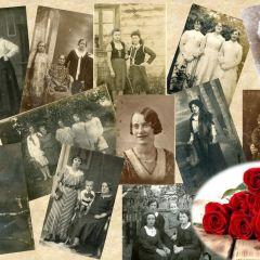 Piękne kobiety na zdjęciach sprzed lat…