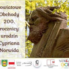 Bliżej Norwida! – obchody  200. rocznicy urodzin Cypriana Norwida w Powiecie Wyszkowskim