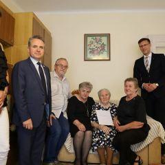 Jubileusz 100. urodzin mieszkanki Ostrowi Mazowieckiej