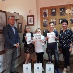 Wręczenie nagród w gminnym konkursie historycznym