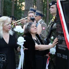 Ceremonia odsłonięcia popiersia ks. płka Jana Osińskiego w Ossowie