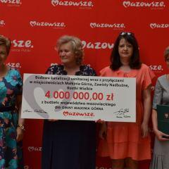 Umowa na dofinansowanie kolejnych inwestycji w Gminie Małkinia Górna podpisana!
