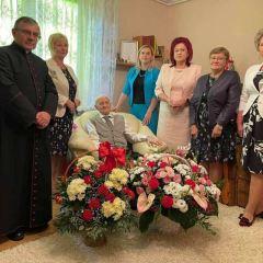 Setna rocznica urodzin mieszkańca gminy Zaręby Kościelne