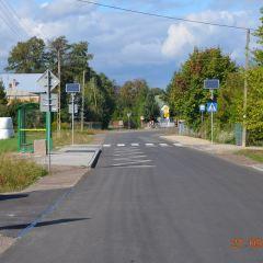Kolejna droga powiatowa została przebudowana