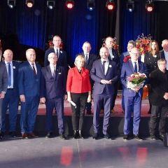 Samorządowcy z Powiatu Wołomińskiego uczcili 200. rocznicę Chrztu Św. C. K. Norwida w Dąbrówce