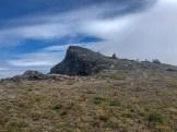 Summit of Banshee peak. An easy boot path.