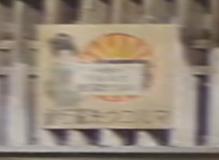 朝ドラ『おちょやん』第10回から「マルコウ洗濯石鹸」看板