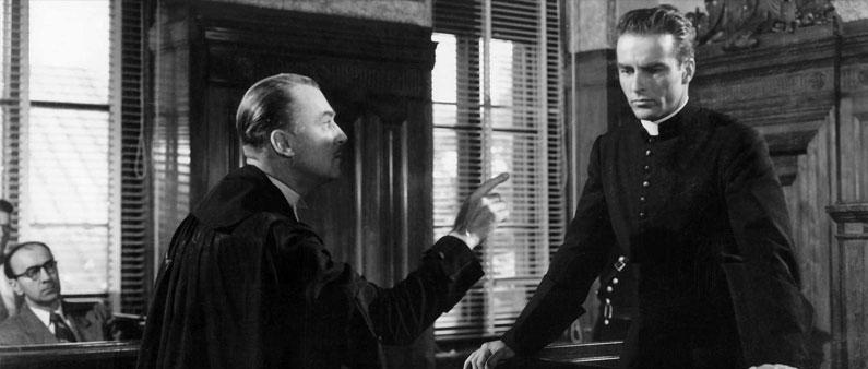 I Confess de Alfred Hitchcock (1953 - Etats-Unis)