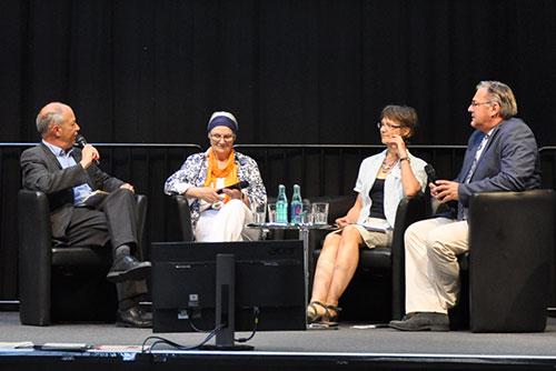 Podiumsdiskussion beim 12. Deutschen Seniorentag in Dortmund
