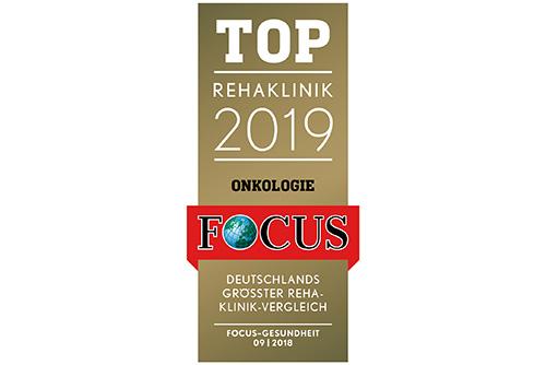 Kurpark-Klinik zum dritten Mal in Folge Top-Rehaklinik