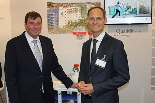Michael Poschmann und Christof Lawall auf dem HSK