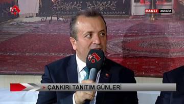 Çankırı Tanıtım Günleri Kurşunlu Belediye Başkanı Şakir Kaymak'ın Konuşması