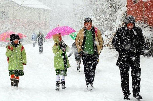 Pazartesi Günü Kurşunlu'da Okullara 1 Gün Kar Tatili