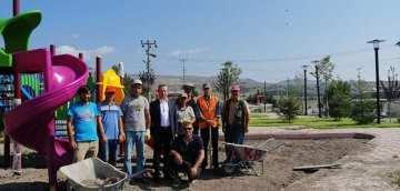 Sanayi Sitesi Yanına Ali Küskü Parkı Yapımı Projesi