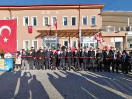 Kurşunlu Şehit P. Astsb.Muammer Karaağaç Aile Sağlığı Merkezi-Toplum Sağlığı Merkezi ve 112 İstasyon'unun açılışı