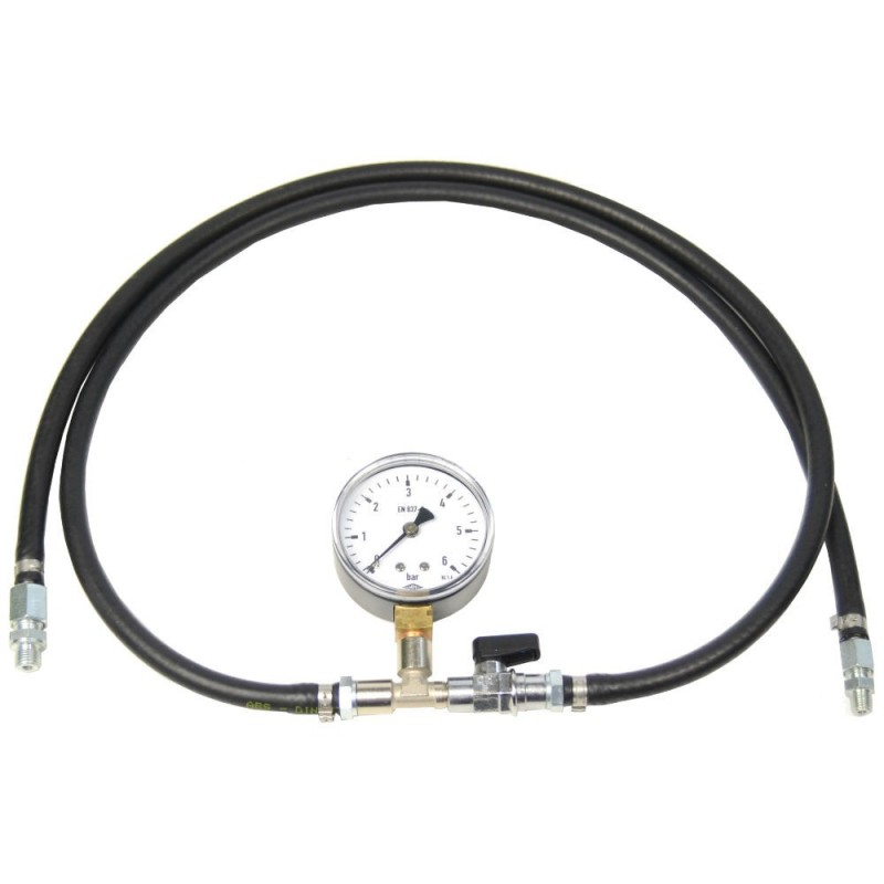 fuel pressure meter for K-Jetronic injection