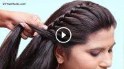 easy pretty side braid hairstyles