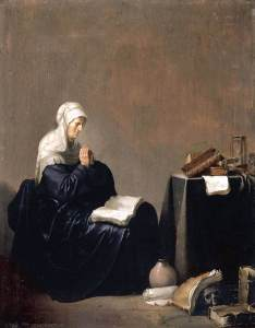 Willem_de_Poorter_-_A_Woman_Praying_-_WGA18150