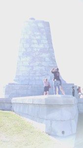 monument at Kitty Hawk
