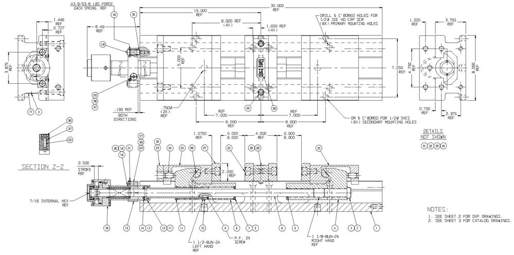 Hydraulic DoubleLock Vise, 8