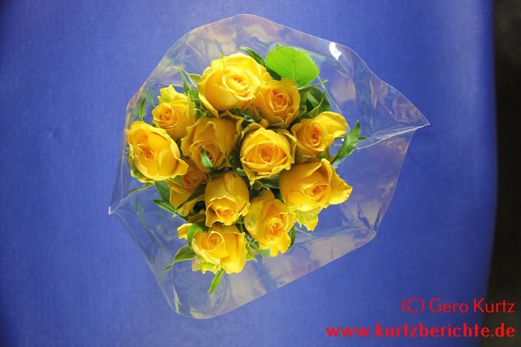 Blumenstrau Lange Haltbar Machen
