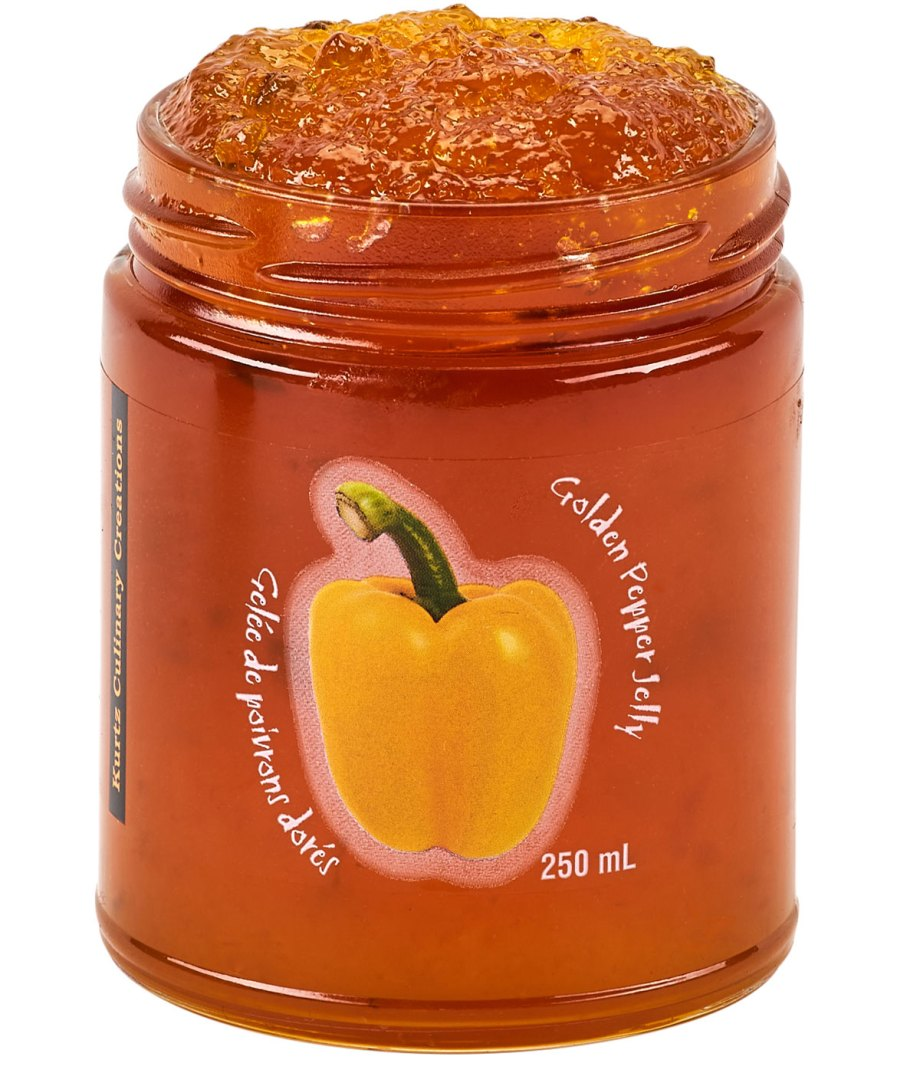 Golden Pepper Jelly Spicy