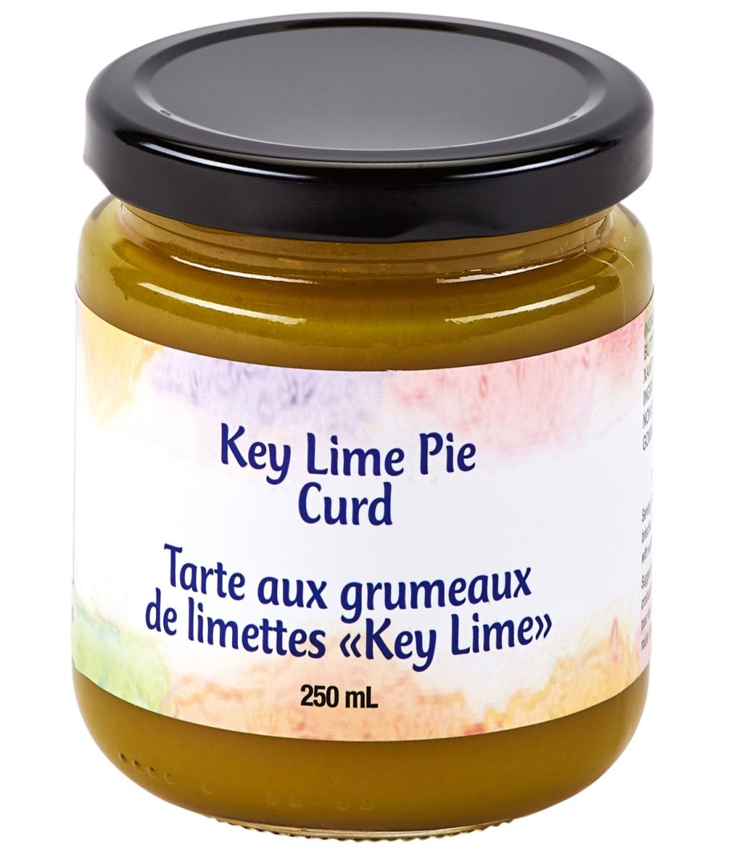 key lime pie curd