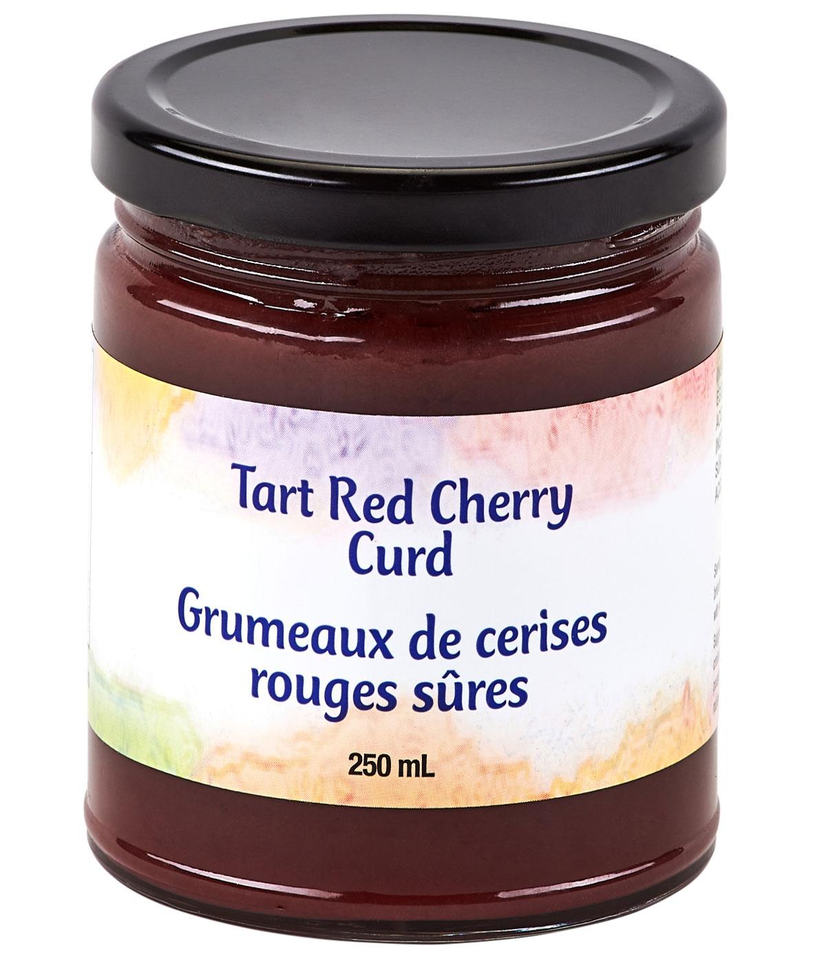 tart red cherry curd