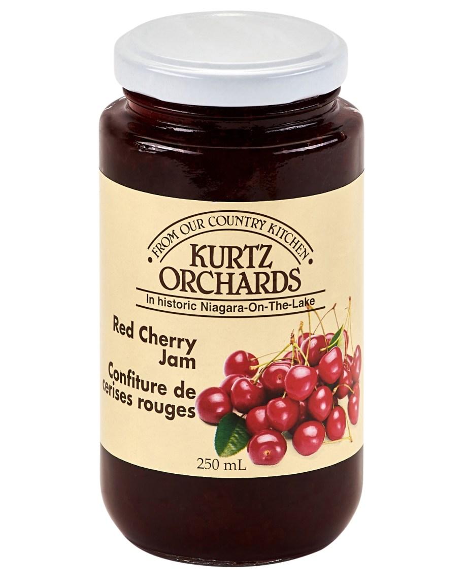 red cherry jam