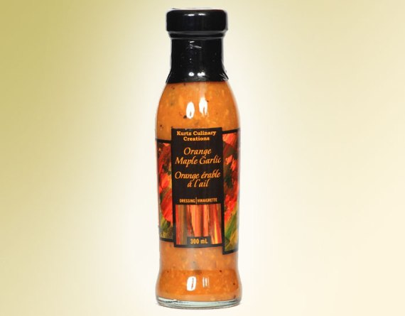 Orange Maple Garlic