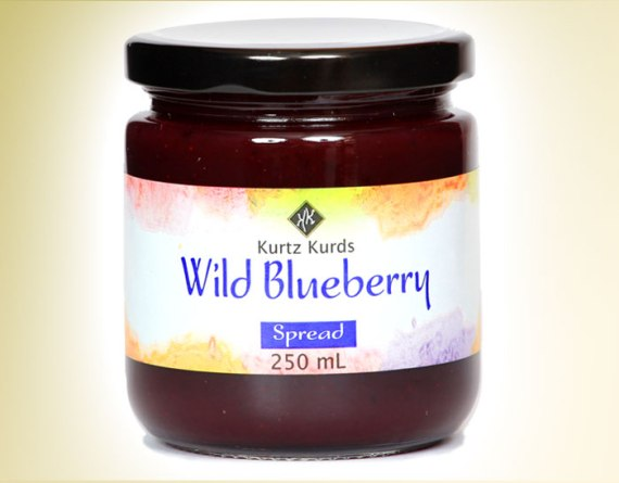 Wild Blueberry Curd