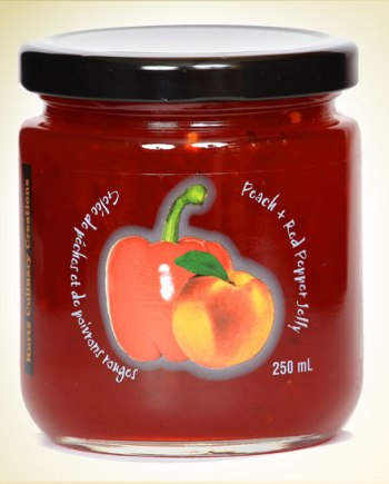 Peach Red Pepper Jelly
