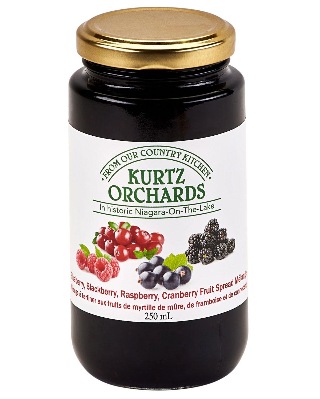 Blueberry-Blackberry Raspberry Cranberry Melange