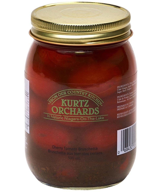 Cherry Tomato Bruschetta