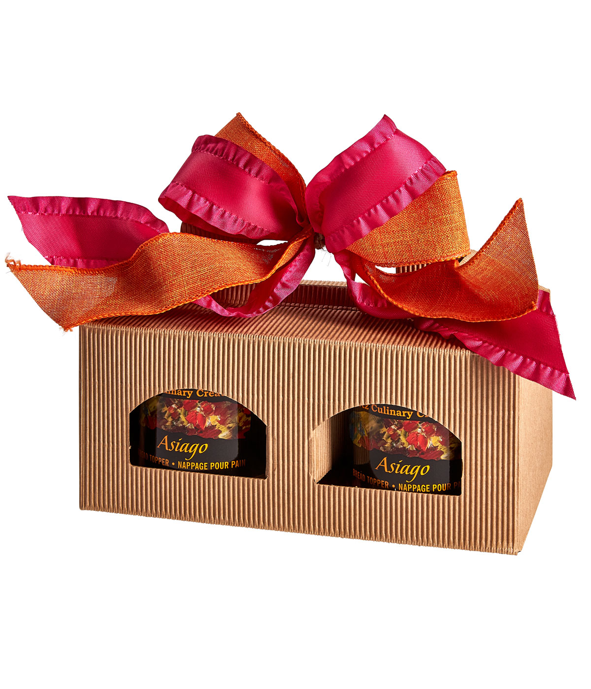 Asiago Bread Topper Pair: Gift Box