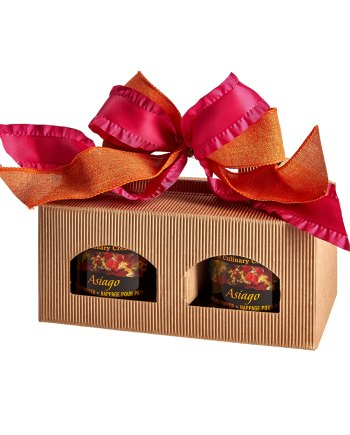Asiago Bread Topper Pair: Gift Box